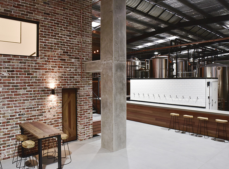 Main foyer, bar and brewery